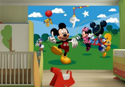 "Disney bedroom wallpaper ""Mickey Mouse Clubhouse"""